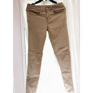 American Eagle Khaki Jeggings